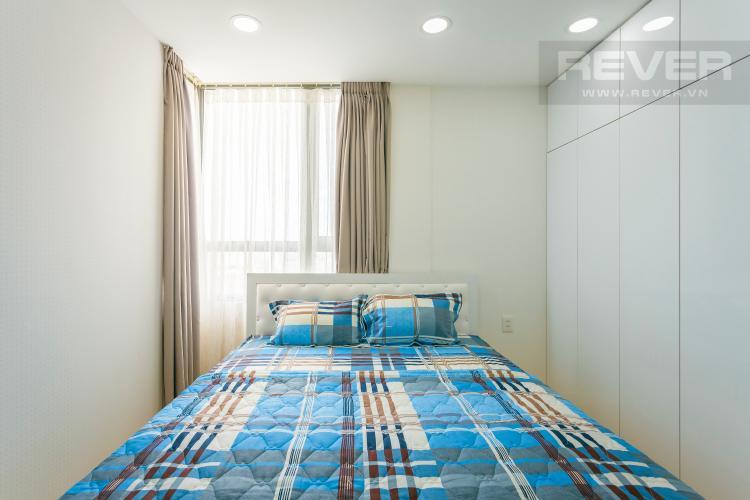 Phòng ngủ 1 Căn góc Masteri Thảo Điền tầng cao tháp T2 thoáng mát