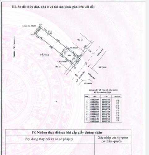 Bản vẽ nhà phố Lê Đức Thọ, Gò Vấp Nhà phố hướng Đông Nam hẻm xe hơi, diện tích 100m2.