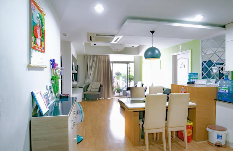 Căn hộ The ParcSpring 3 phòng ngủ tầng thấp block C full nội thất