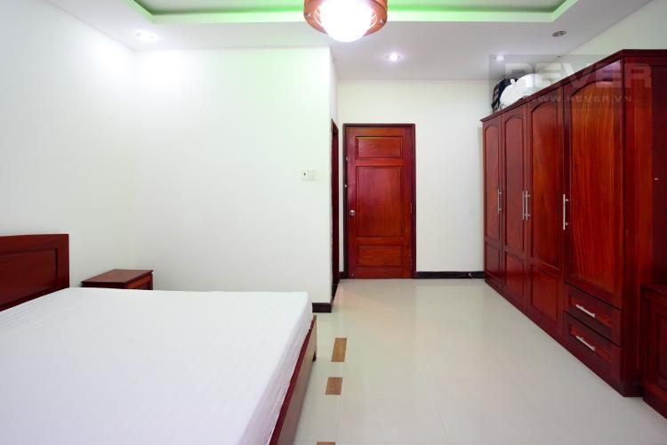 Phòng Ngủ 1 Tầng 2 Cho thuê nhà phố 4 tầng đường 19, Q2, đầy đủ nội thất, view Landmark 81