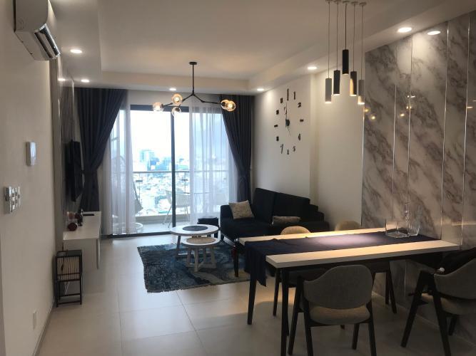 Cho thuê căn hộ The Gold View 2 phòng ngủ, tầng cao, block A, đầy đủ nội thất, view thành phố