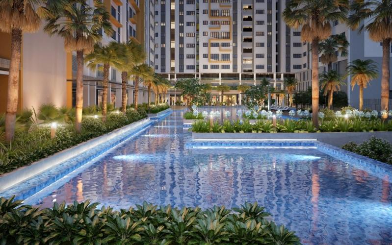 Jamila Khang Điền - Hồ bơi nội khu Jamila Khang Điền.jpg