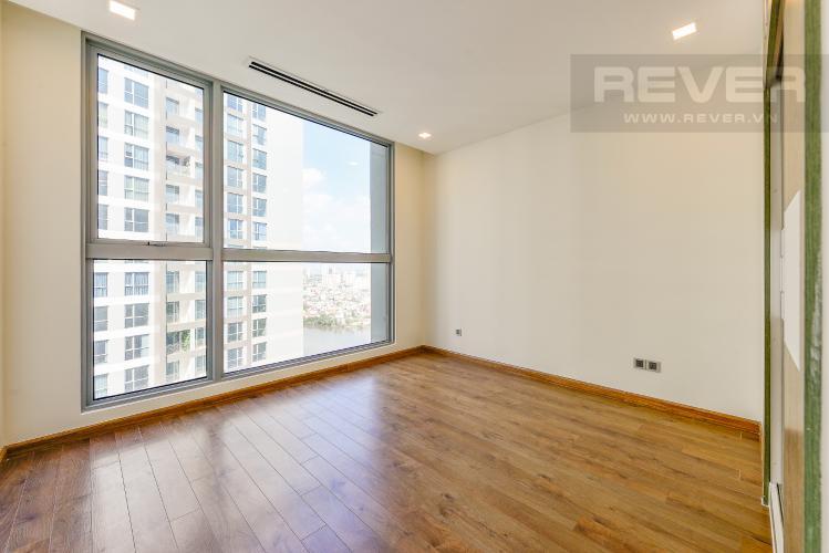 Phòng ngủ 1 Căn hộ Vinhomes Central Park tầng cao Park 1 nội thất cơ bản