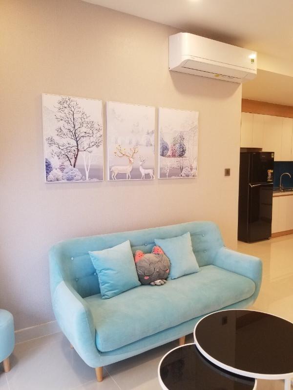2e702365c19e26c07f8f Cho thuê căn hộ Saigon Royal 2PN, tầng 18, tháp A, diện tích 88m2, đầy đủ nội thất