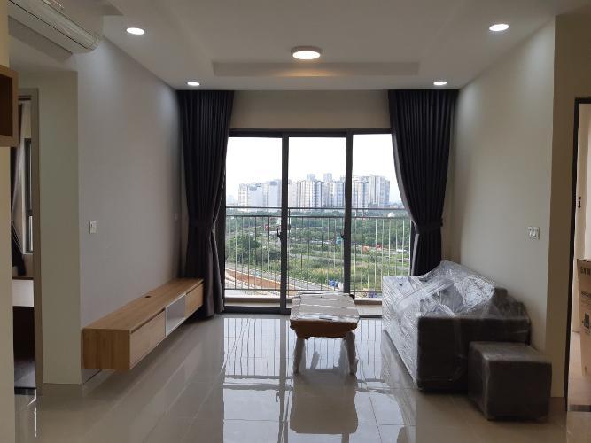 Phòng khách căn hộ Palm Heights, Quận 2 Căn hộ Palm Heights tầng cao, view sông và thành phố cực thoáng.