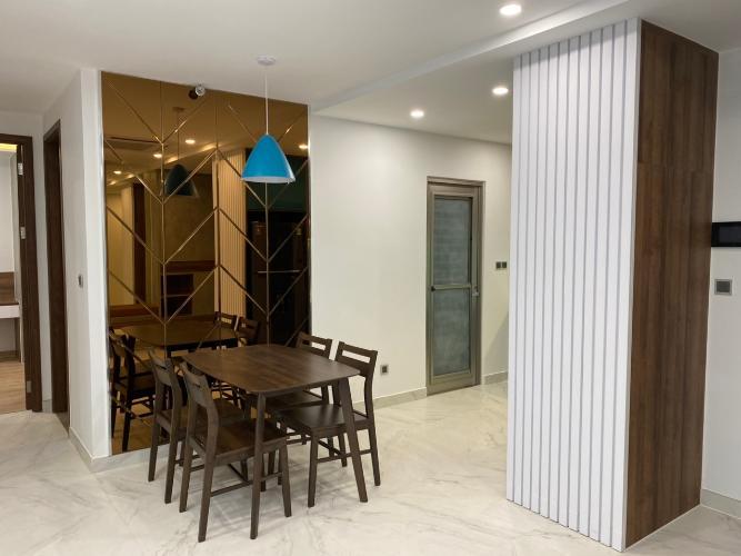 Phòng khách căn hộ Midtown  Căn hộ Phú Mỹ Hưng Midtown nội thất sang trọng, view thành phố.