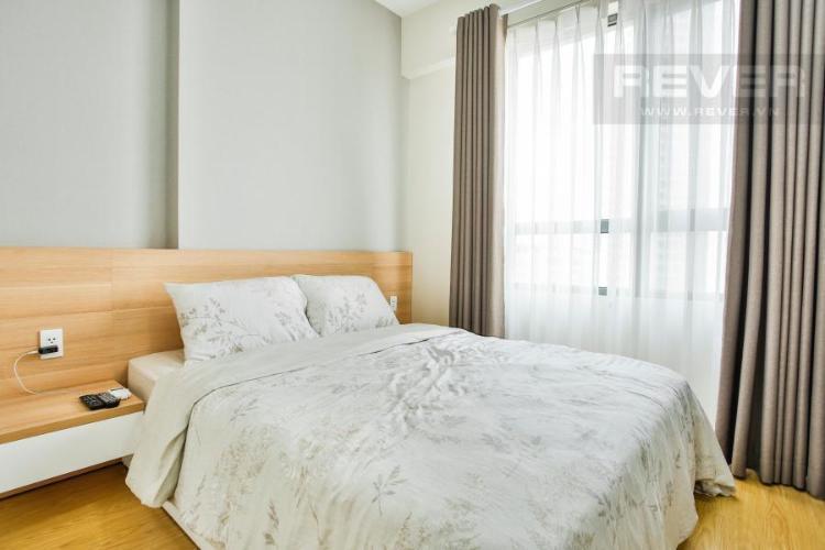 Phòng ngủ 2 cửa sổ Tây Bắc Căn hộ T4B Masteri Thảo Điền trung tầng hướng Tây