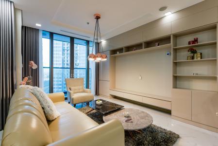 Căn hộ Vinhomes Central Park 1PN đầy đủ nội thất