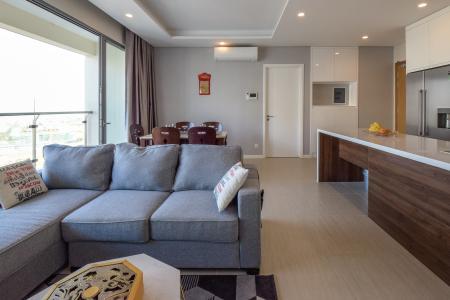 Cho thuê căn hộ Diamond Island - Đảo Kim Cương  2PN 2WC, đầy đủ nội thất, view hướng sông và nội khu