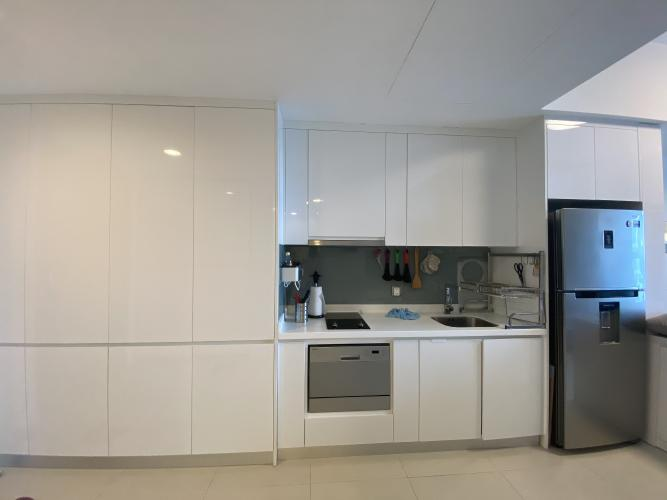 Phòng bếp Gateway Thảo Điền Quận 2 Căn hộ Gateway Thảo Điền tầng cao, nội thất hiện đại.