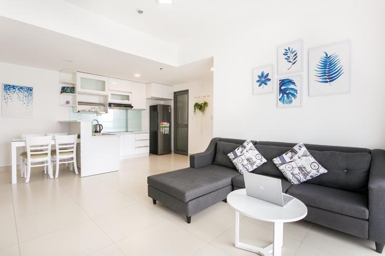 Bán căn hộ Masteri Thảo Điền 2PN, tầng thấp, diện tích 74m2, đầy đủ nội thất, view trực diện hồ bơi