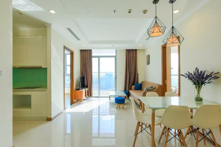 Căn hộ Vinhomes Central Park tầng cao L3, 3 phòng ngủ, nội thất đầy đủ