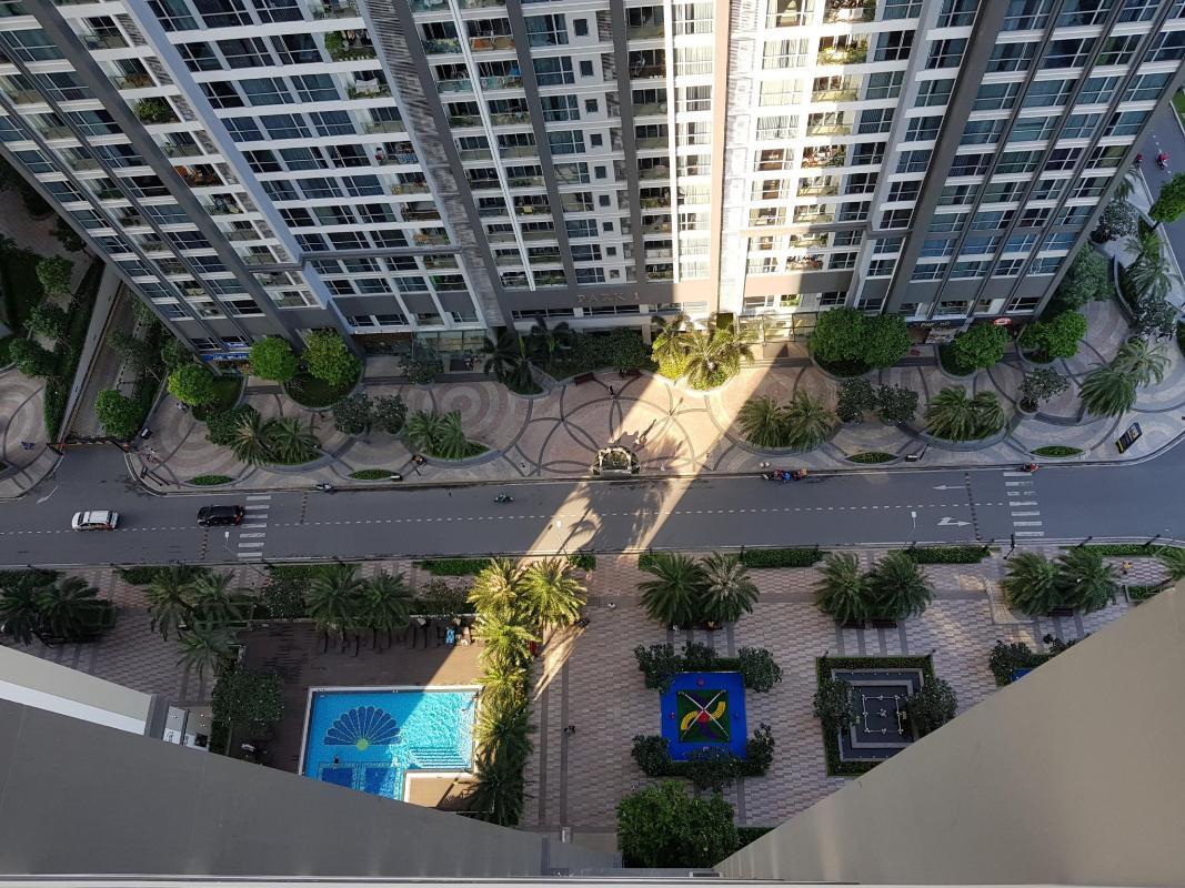 can-ho-vinhomes-central-park Cho thuê căn hộ Vinhomes Central Park 2PN, tháp The Central 1, đầy đủ nội thất, view sông và công viên