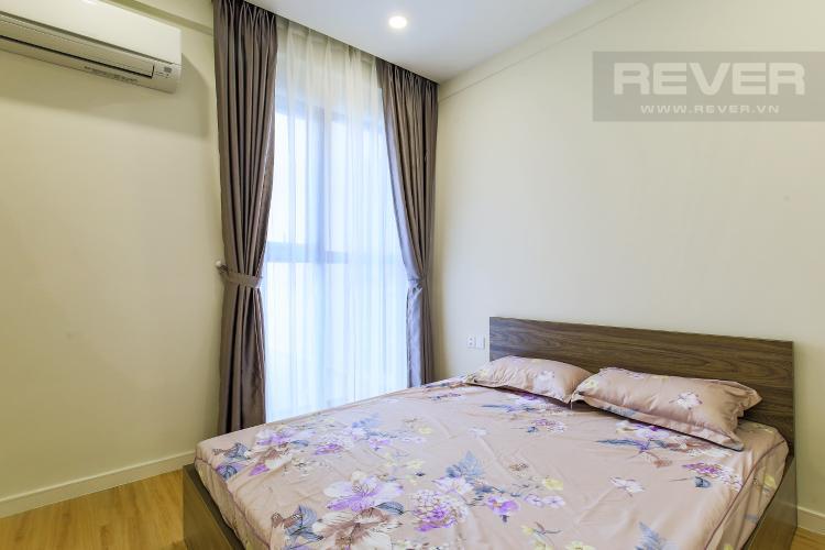 Phòng Ngủ 1 Cho thuê căn hộ Masteri Millennium tầng trung, có ban công, 2PN
