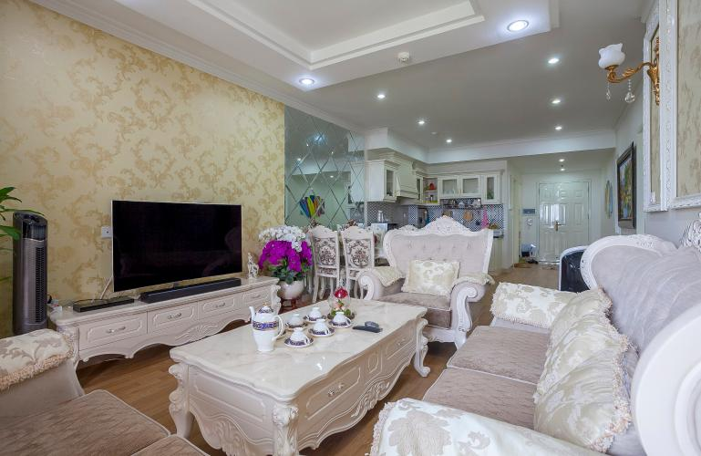 Căn hộ Chung cư Phúc Yên 2 phòng ngủ tầng cao nội thất đầy đủ