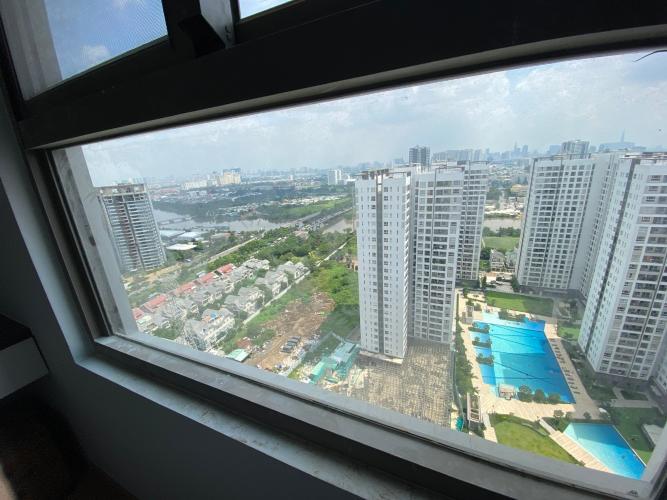 view căn hộ Saigon South Residence Căn hộ Saigon South Residence tầng cao, đầy đủ nội thất