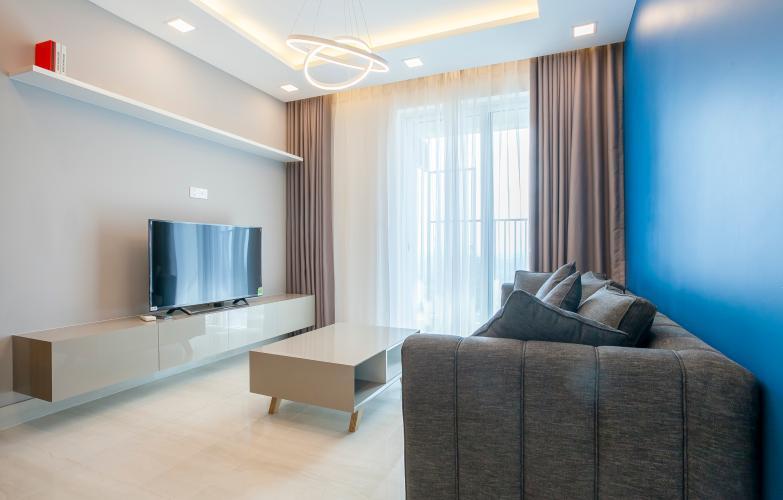 Phòng Khách Căn hộ Vista Verde 1 phòng ngủ tầng cao T2 nội thất đầy đủ