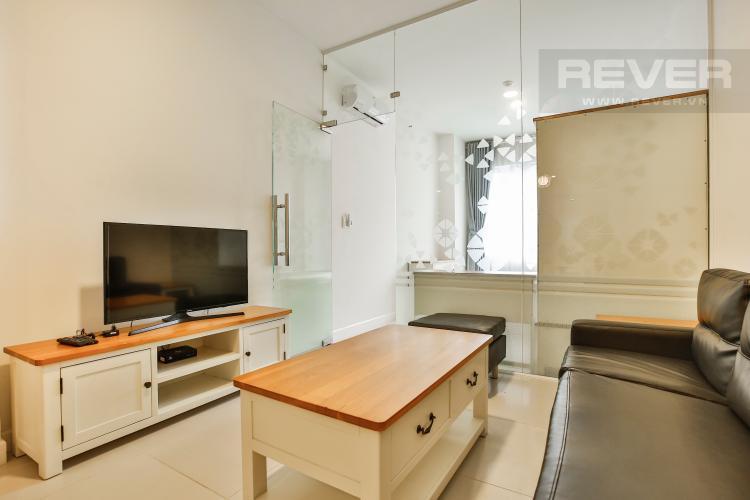 Phòng Khách Căn hộ Lexington 1 phòng ngủ tầng thấp block C đầy đủ nội thất