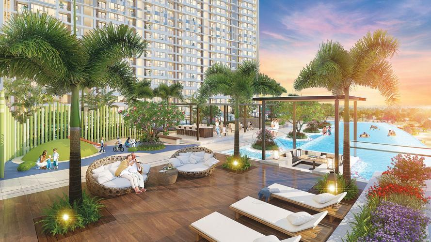 tiện ích căn hộ midtown Căn hộ Phú Mỹ Hưng Midtown nội thất cơ bản, view thành phố.