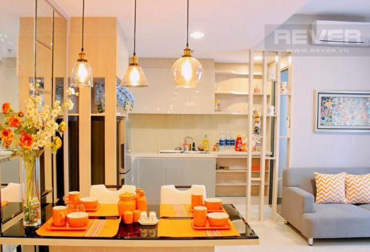 Bếp Căn hộ Masteri Thảo Điền tầng thấp T1 đã có sổ hồng, đầy đủ tiện nghi