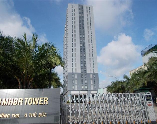 Lan Phương MHBR Tower Căn hộ tầng 10 Lan Phương MHBR Tower view thành phố thoáng mát.