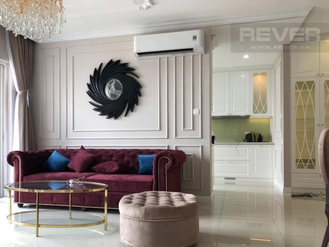 Bán căn hộ Vinhomes Golden River 3PN, diện tích 98m2, đầy đủ nội thất, hướng cửa Đông Bắc