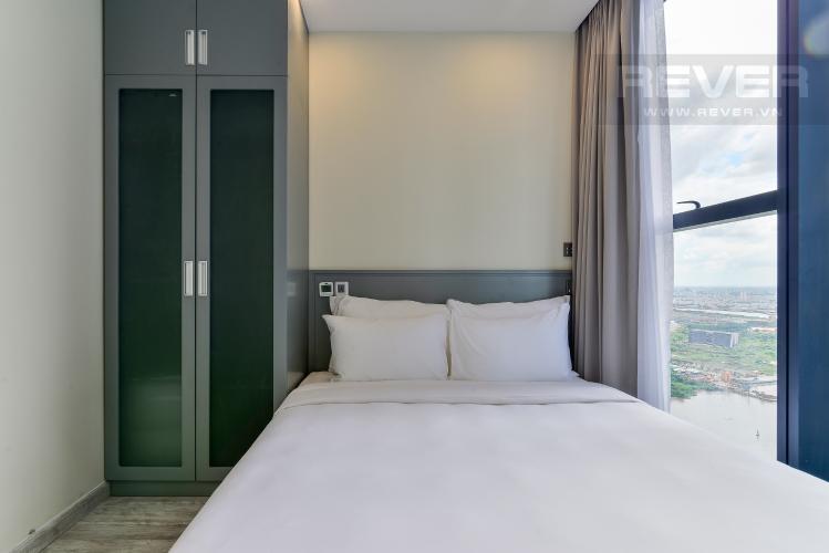 Phòng Ngủ 2 Căn hộ Vinhomes Golden River tầng cao, 2PN, đầy đủ nội thất, view sông thoáng đãng