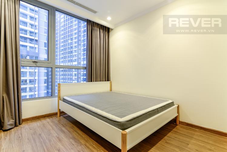 Phòng Ngủ 4 Căn hộ Vinhomes Central Park 4PN đầy đủ nội thất, view sông Sài Gòn