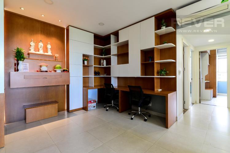 Khu Vực Làm Việc Cho thuê căn hộ Lexington Residence 3PN, tháp LA, đầy đủ nội thất, view hồ bơi