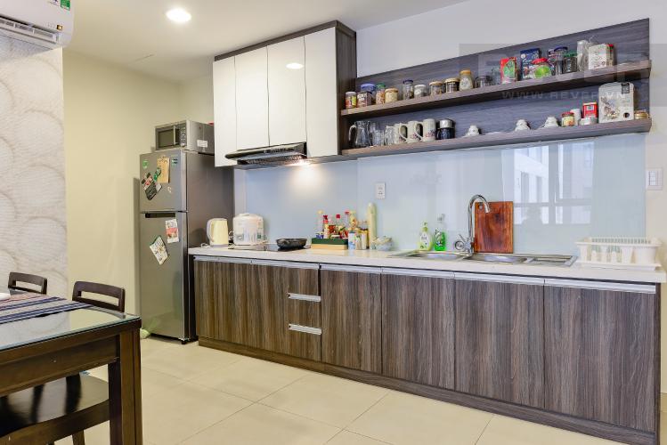 Bếp Căn hộ Masteri Thảo Điền 2 phòng ngủ tầng trung T3 nội thất đầy đủ