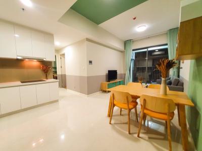 Cho thuê căn hộ Masteri An Phú 2PN, tầng cao, tháp A, diện tích 69m2, đầy đủ nội thất
