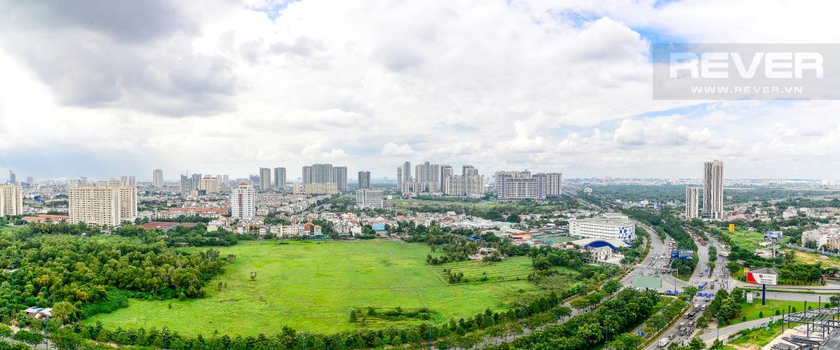 View Cho thuê căn hộ The Sun Avenue 3 phòng ngủ, tầng cao block 5, đầy đủ nội thất cao cấp