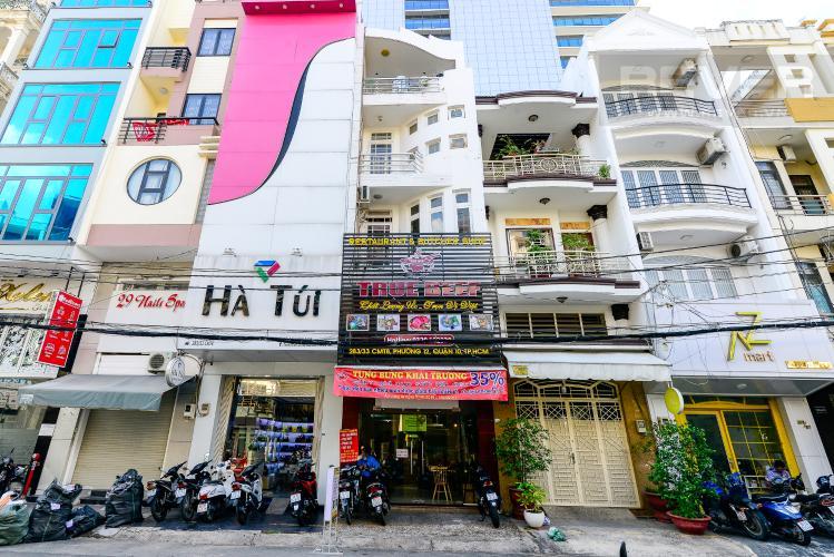 Mặt Tiền Nhà Bán nhà hẻm 283 đường Cách Mạng Tháng 8, 5 tầng, 5PN, diện tích 64m2, đầy đủ nội thất