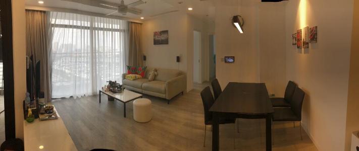 Bán căn hộ Vinhomes Central Park 2PN, diện tích 84m2, đầy đủ nội thất, view thành phố