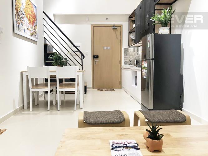 Phòng Khách Bán căn hộ M-One Nam Sài Gòn 2 phòng ngủ, đầy đủ nội thất, thiết kế ban công nhỏ xinh
