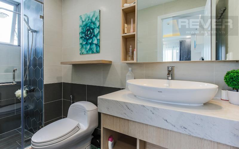 Phòng Tắm 1 Căn hộ Happy Residence 2 phòng ngủ tầng trung tháp B nội thất đầy đủ