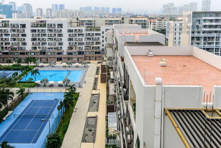 View Căn hộ The Panorama 3 phòng ngủ tầng trung view sông