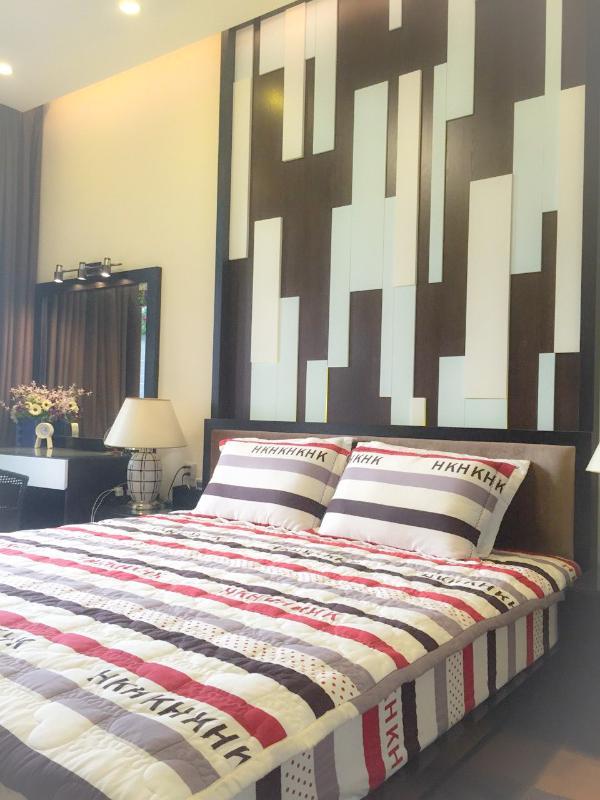 Phòng ngủ chính Bán căn hộ sân vườn The Vista An Phú 2PN, tháp T3, diện tích 143m2, đầy đủ nội thất, hướng Đông Nam
