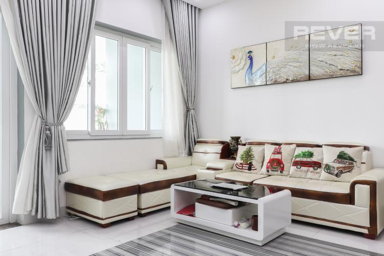 Phòng Khách Bán nhà phố 2 tầng, khu biệt thự compound Mega Village Quận 9, diện tích đất 75m2, đầy đủ nội thất