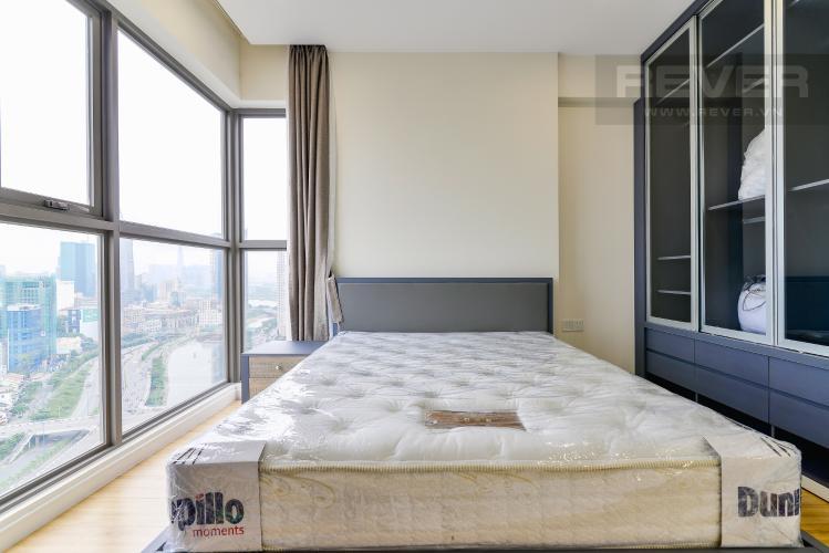 Phòng Ngủ 2 Cho thuê căn hộ Masteri Millennium tầng cao, 3PN, nội thất đầy đủ