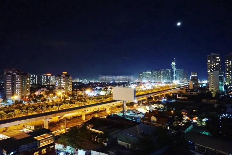 View căn hộ Masteri Thảo Điền Căn hộ Masteri Thảo Điền đầy đủ tiện nghi, view thành phố cực thoáng.