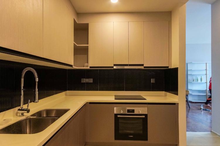 Bếp căn hộ D'EDGE Cho thuê căn hộ D'Edge view thành phố thoáng mát, đầy đủ nội thất.