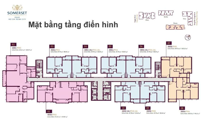 Căn hộ Feliz En Vista tầng trung, đầy đủ nội thất.
