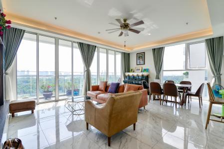 Bán hoặc cho thuê căn hộ Sari Town Sala Đại Quang Minh 3PN, đầy đủ nội thất, view công viên và hồ bơi thoáng mát