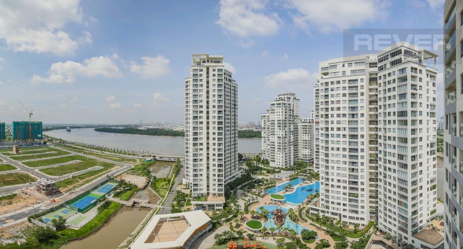 View Bán căn hộ Diamond Island - Đảo Kim Cương 1PN, tháp Canary, view nội khu và sông Sài Gòn mát mẻ
