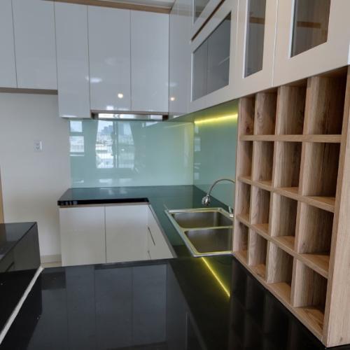Phòng bếp M-One Nam Sài Gòn, Quận 7 Căn hộ Office-tel M-One Nam Sài Gòn tầng thấp, view quận 1 sầm uất