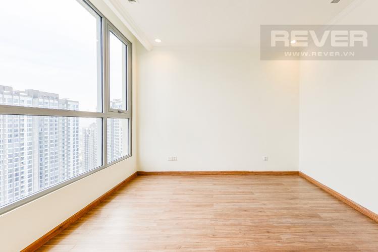 Phòng ngủ 2 Căn hộ Vinhomes Central Park 2 phòng ngủ tầng cao C3 nhà trống