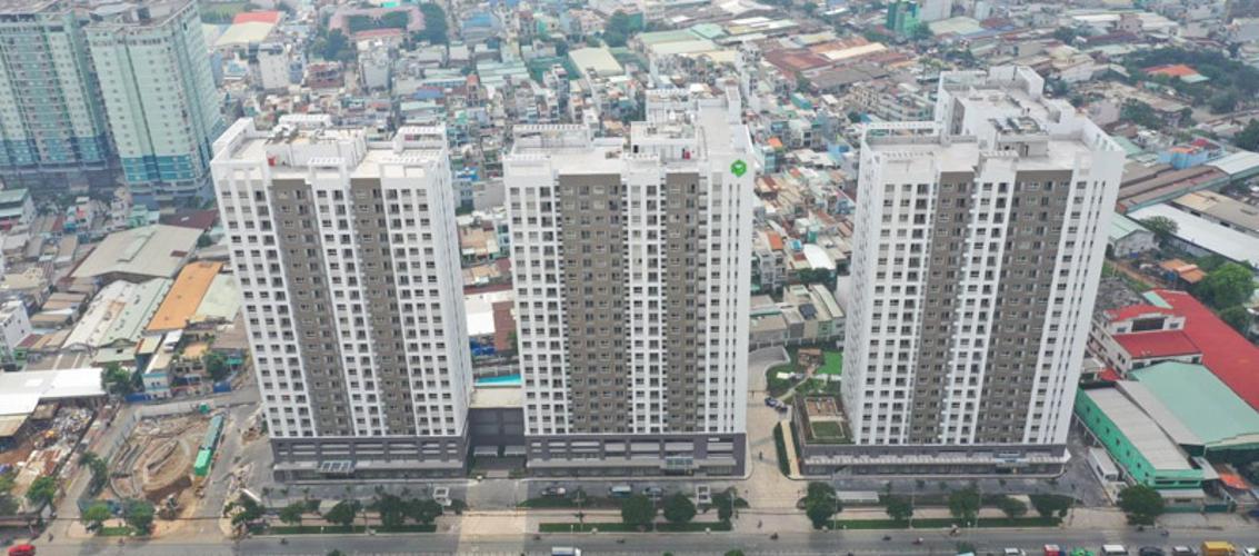 Richstar, Tân Phú Căn hộ chung cư Richstar view nội khu yên tĩnh, hướng cửa Đông Nam.