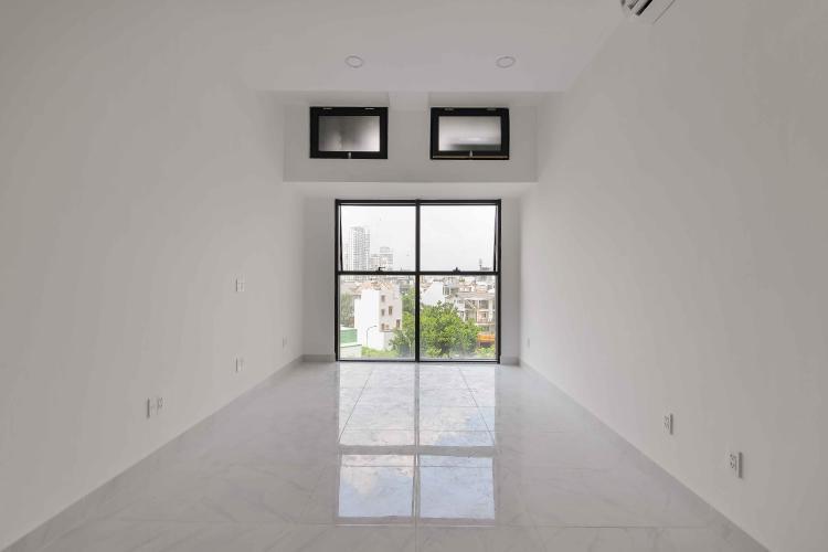 Phòng Khách Cho thuê căn hộ officetel The Sun Avenue thuộc tầng thấp, block 4, đầy đủ nội thất