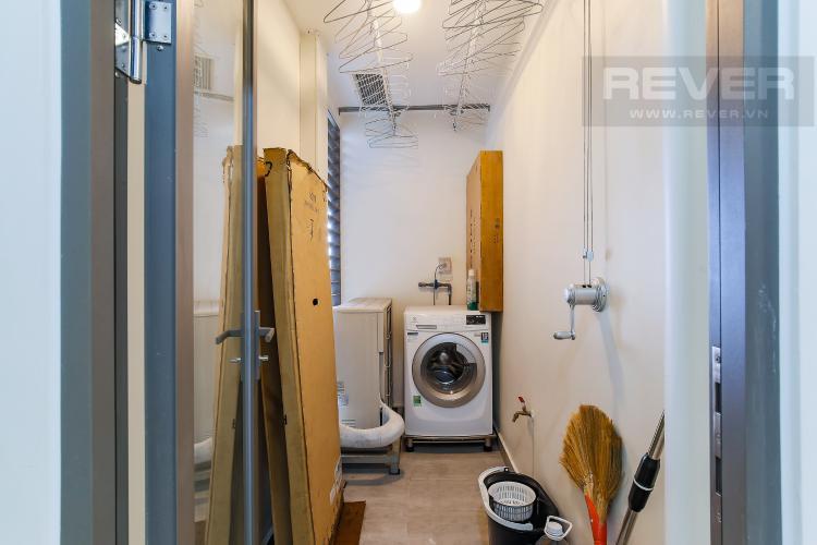 Logia Cho thuê căn hộ Masteri Millennium tầng trung, 2PN, nội thất đầy đủ